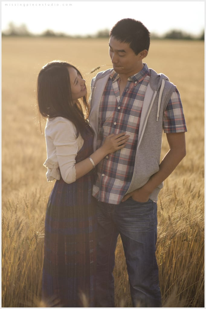 032-Calgary Wheat Field Edmonton Engagement Photography _WEB