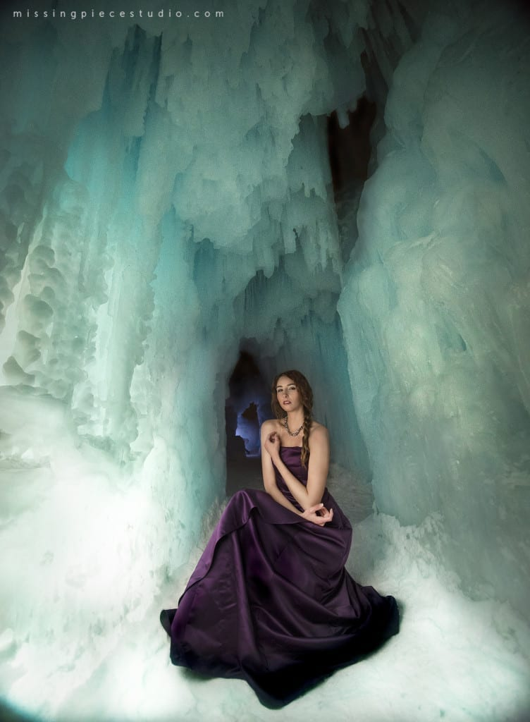 Calgary Photography Winter Fashion Ice Queen Ice Castles