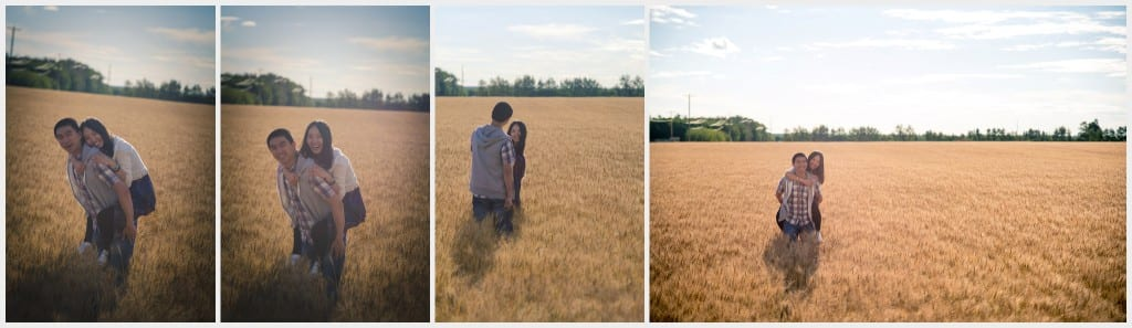 -Edmonton Outdoor Photography session Wheat Field