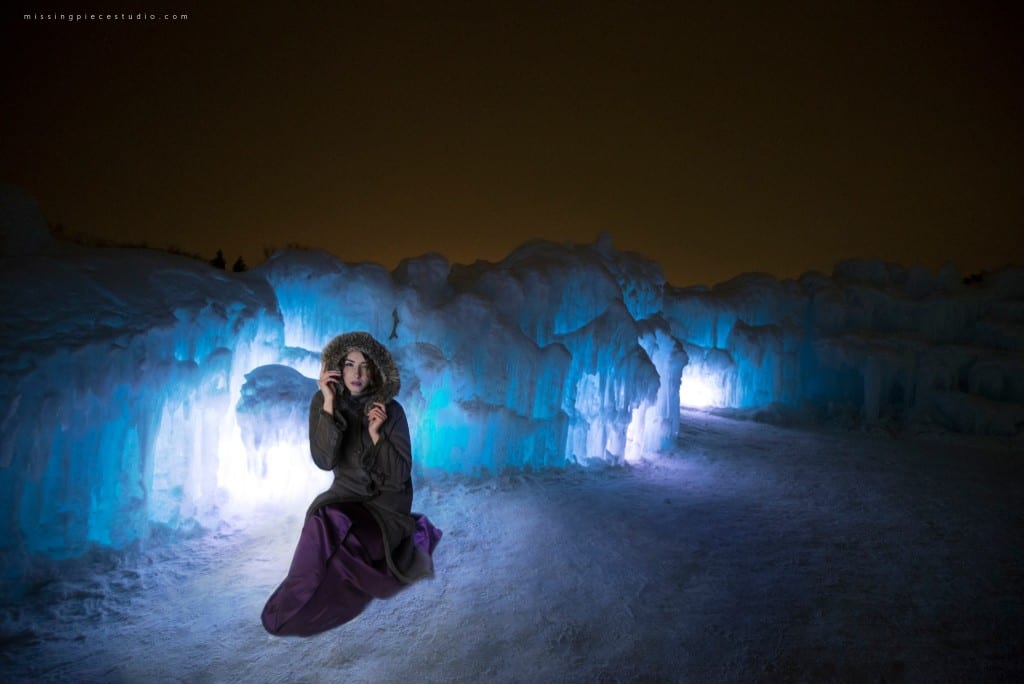 Edmonton Photography Ice Castles Winter Fashion Ice Queen-_0003