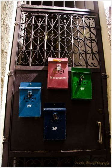 Hong Kong Central Photography sheung Wan-mailbox-mail