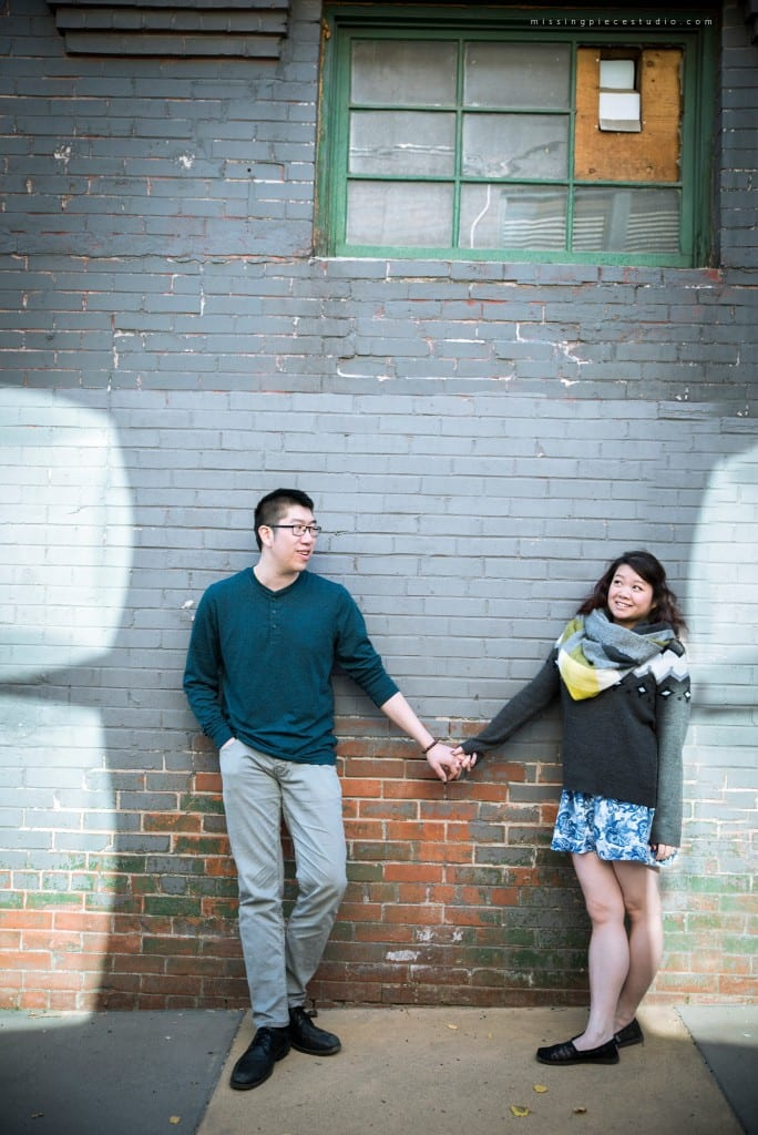 YYC Calgary Engagement Photography Urban Cityscape Wedding- wall
